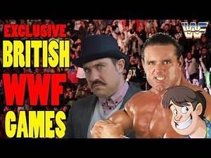 British Exclusive Wrestling Games - Top Hat Gaming Man & Guru Larry