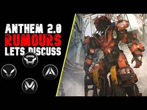 Anthem 2.0 Rumours | Lots of Changes Coming? Lets Discuss,