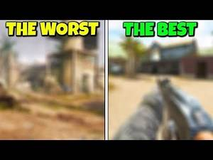 Ranking every BLACK OPS Launch Map from WORST to BEST