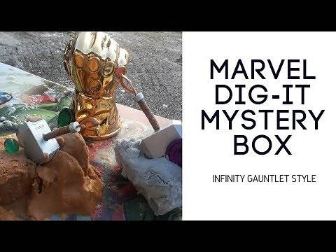 What's in the Hydra box?! Marvel Infinity Gauntlet Dig-it!