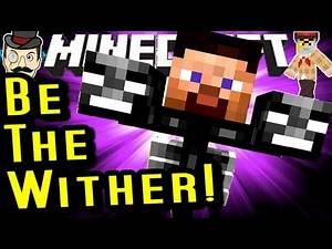 Minecraft YOU ARE The WITHER Mod! CRAZY!