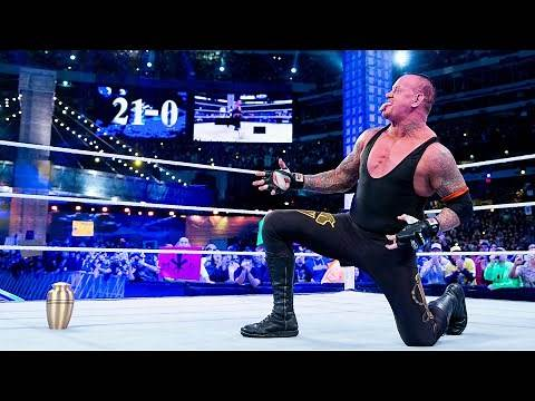 The Undertaker's legendary WrestleMania Undefeated Streak: WWE Playlist