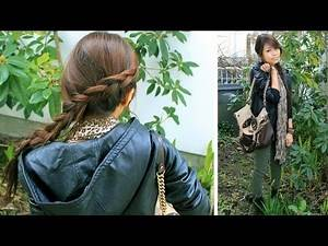 The Hunger Games | Katniss Everdeen Inspired Hair Tutorial and Outfit
