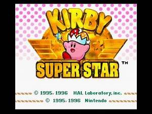 Kirby Super Star SNES) soundtrack, sound effects, music Extra Life