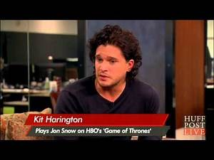 Kit Harington Dishes On 'Game Of Thrones' Actors   HPL