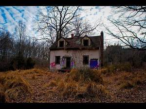 Abandoned Blair Witch Project House Satanic Rituals Found INSIDE