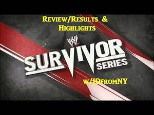WWE Survivor Series 2012 (11/18/12): Review, Thoughts & Highlights (WWE Commentary)