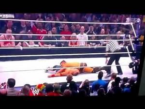 john cena vs the miz wwe wrestlemania 27