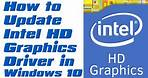 How To Update Intel HD Graphics Driver In Windows 10