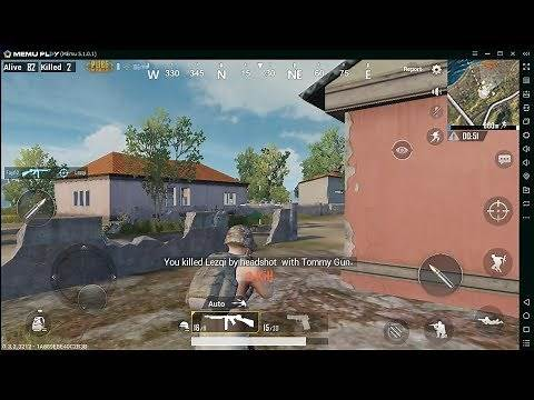 How to Play PUBG Mobile English on Pc Keyboard Mouse Mapping with Memu Android Emulator