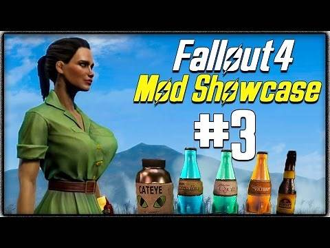 Fallout 4 Mod Showcase #3 - BUSTY, Mojave Imports, Crafting Workbenches & More!