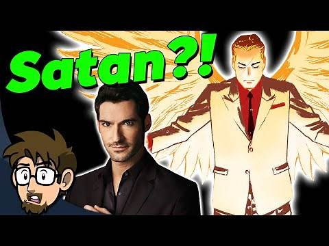 The 2nd MOST POWERFUL DC Entity: Lucifer Morningstar - Comic Drake