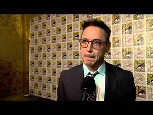 The Avengers: Age of Ultron: Robert Downey Jr. Comic Con Movie Interview