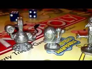 SPONGEBOB SQUAREPANTS MONOPOLY BOARD GAME NICKLEODEON BY PARKER REVIEW / RULES / INSTRUCTIONS