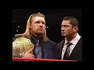 Randy Orton Confronts Batista & Triple H After New Year's Revolution | RAW Jan 10, 2005