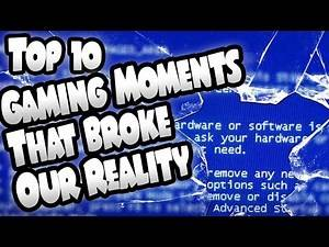 Top 10 Gaming Moments That Broke Our Reality (Fourth Wall Breaks In Gaming)