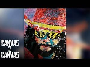 """Macho Man"" Randy Savage's larger-than-life personality: WWE Canvas 2 Canvas"