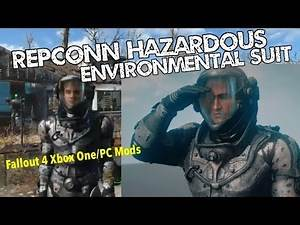 RepConn Hazardous Environmental Suit Fallout 4 Xbox One/PC Mods