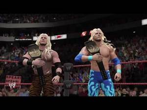 WWE 2K17. Attitude Era. Albert & Big Boss Man VS Edge & Christian. Raw. WWE Tag Championship