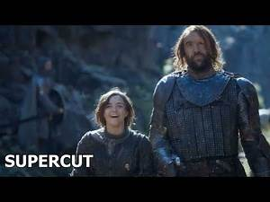 Arya and the Hound Being A Comedic Duo