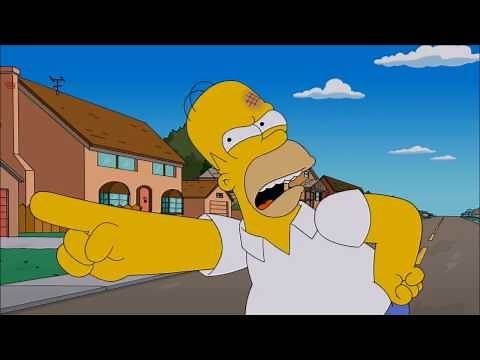 Family Guy - Peter Fights Homer Simpson Pt 1