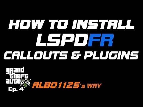 HOW TO INSTALL CALLOUTS & LSPDFR PLUGINS | GTA5 POLICE MOD TUTORIAL |Learn Modding GTA5 Albo's Way 4