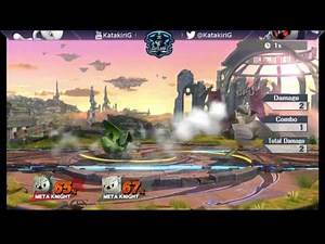 Meta Knight's v1.1.5 F-Air Combos & Forces Tech Chases