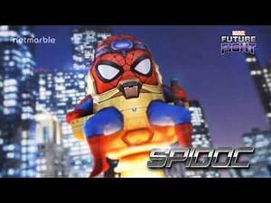 Original Ghost Rider and SPIDOC Join Marvel Future Fight!