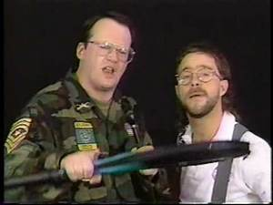 Jim Corrnette and Smokey MT. Wrestling show out shell out...BEATINGS!