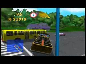 Simpsons Road Rage part4 Yellow&Black Bus!? (CMTI)