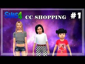 The Sims 4: CC Shopping// Toddler outfits, Child outfits/ CC Links