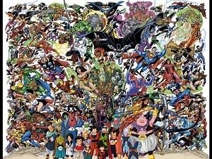 Top 88 Hall of Fame - (DBZ) DragonBall Z / GT vs DC Comics vs Marvel Superheroes