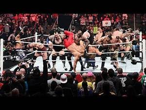 Royal Rumble 2017 Brock Lesnar vs Goldberg vs Roman Reigns vs Undertaker vs Braun Strowman Vs Randy