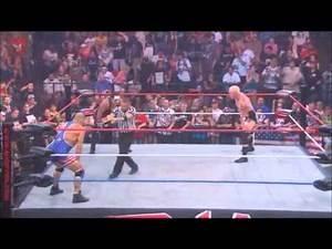 TNA Kurt Angle vs Mr Anderson vs Sting (NS) part 1