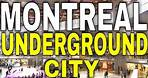 4K Montreal - Walking the Underground City - 【4K】