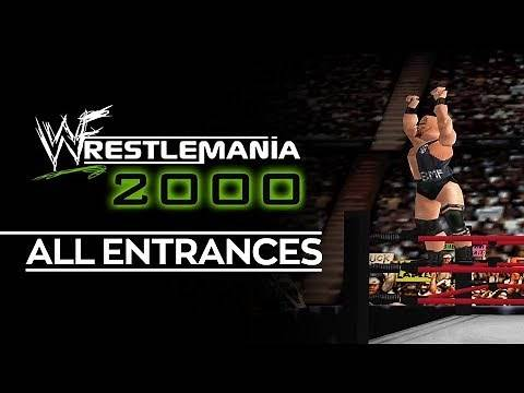 WWF Wrestlemania 2000: All Entrances (1080p HD)