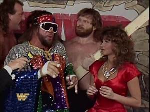 WWF Survivor Series 1987 - Team Savage Interview
