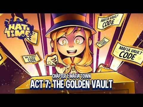 A Hat in Time | Golden Vault Ticket locations