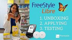 Freestyle Libre: UNBOXING, APPLYING & TESTING