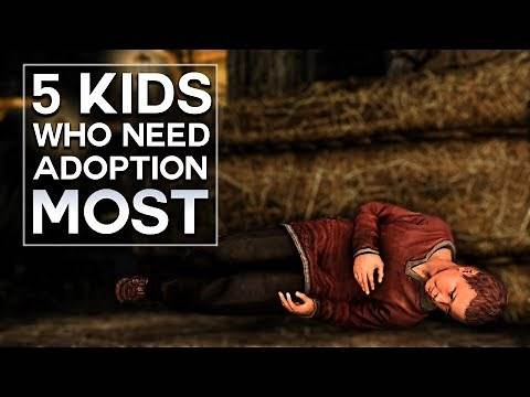 Skyrim - Top 5 Kids Who Need Adoption the Most