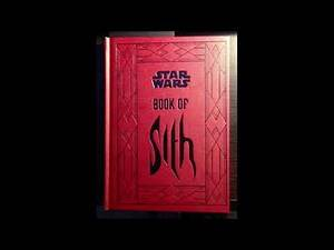Star Wars Book Of Sith 51 The Book Of Anger