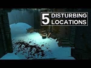 Skyrim - 5 Disturbing Locations