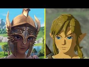 Gods & Monsters vs The Legend of Zelda BotW Art Style Early Comparison [ E3 2019 ]