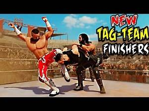 WWE 2K20 New Tag-Team Finishers! Top 12