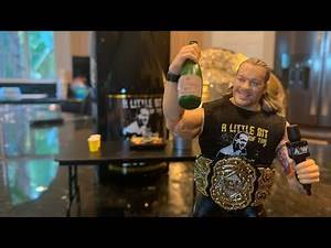 AEW CHRIS JERICHO A LITTLE BIT OF THE BUBBLY! Ringside EXCLUSIVE