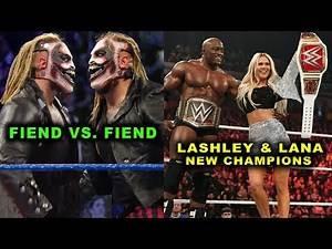 10 Shocking WWE Plans Rumored for 2020 - Fiend vs. Fiend
