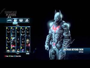 Batman Arkham Knight DLC Skins [xboxone]