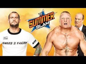 WWE 2K15 - Brock Lesnar vs CM Punk