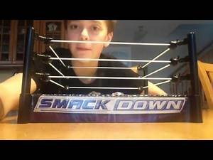 WWE action figure break away ring