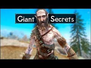 Skyrim: 5 Things They Never Told You About Giants